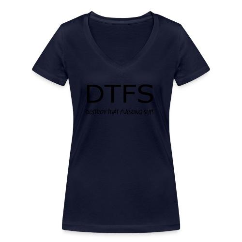 DeThFuSh - Women's Organic V-Neck T-Shirt by Stanley & Stella