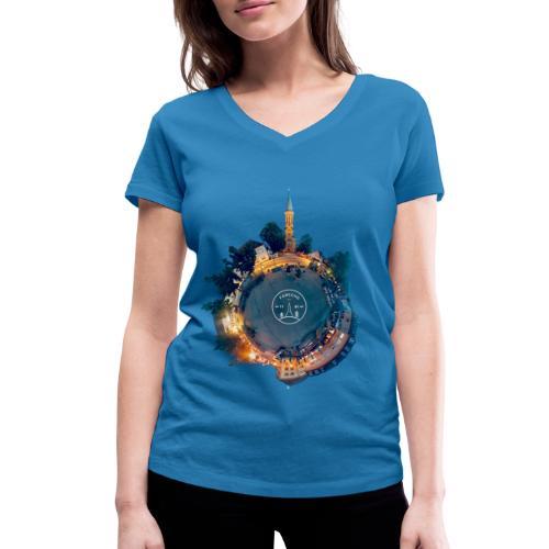 Little Forschd - Frauen Bio-T-Shirt mit V-Ausschnitt von Stanley & Stella