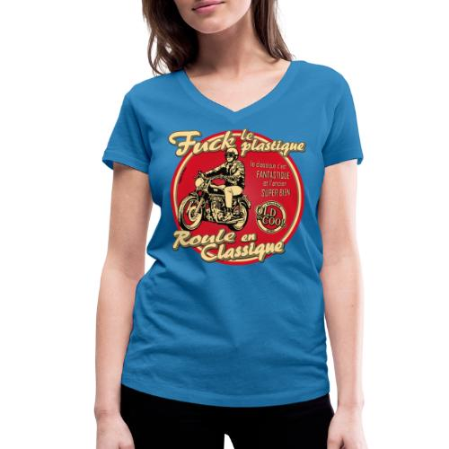 N 181 FUCK - T-shirt bio col V Stanley & Stella Femme