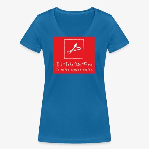 de todo un poco - Camiseta ecológica mujer con cuello de pico de Stanley & Stella