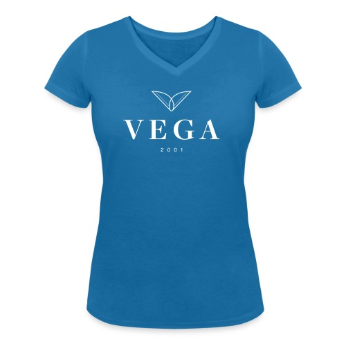VEGA logo - Økologisk Stanley & Stella T-shirt med V-udskæring til damer