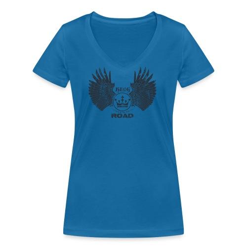 WINGS King of the road dark - Vrouwen bio T-shirt met V-hals van Stanley & Stella