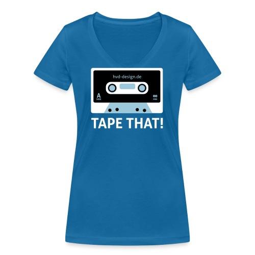 Tape That Vektor - Frauen Bio-T-Shirt mit V-Ausschnitt von Stanley & Stella