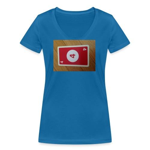 UNO - Frauen Bio-T-Shirt mit V-Ausschnitt von Stanley & Stella