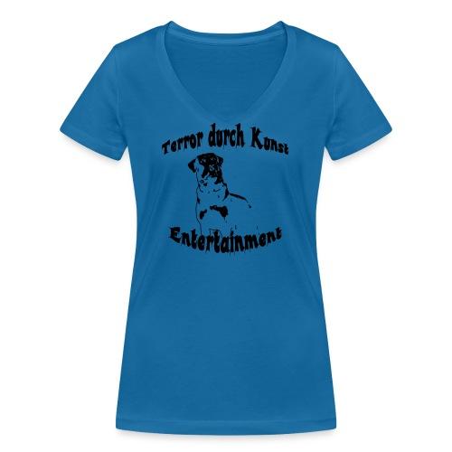 logoalt - Frauen Bio-T-Shirt mit V-Ausschnitt von Stanley & Stella