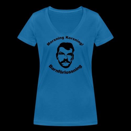 chrille2 - Ekologisk T-shirt med V-ringning dam från Stanley & Stella