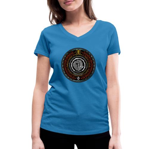 MizAl Blason - Ekologiczna koszulka damska z dekoltem w serek Stanley & Stella