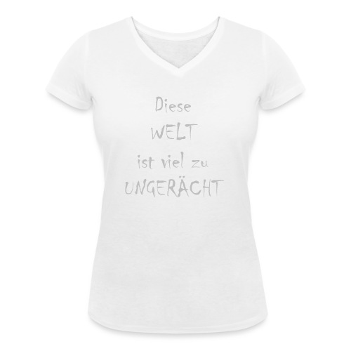 WORTKunstwort 21.3 - Frauen Bio-T-Shirt mit V-Ausschnitt von Stanley & Stella