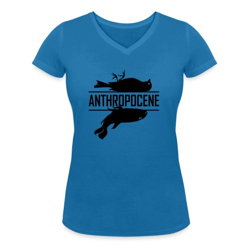anthropocene 1 - T-shirt bio col V Stanley & Stella Femme