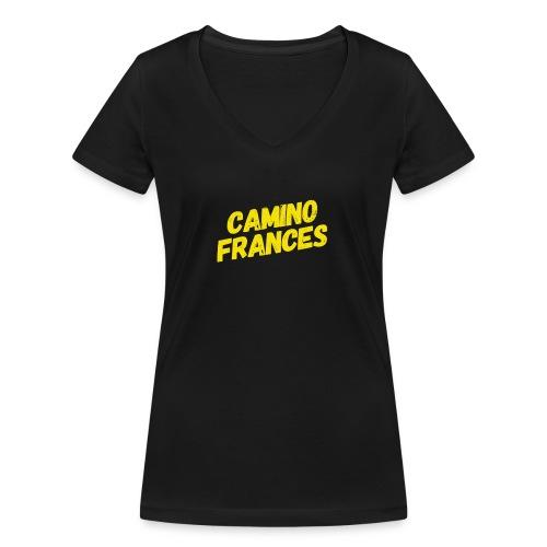 Camino Frances - Frauen Bio-T-Shirt mit V-Ausschnitt von Stanley & Stella