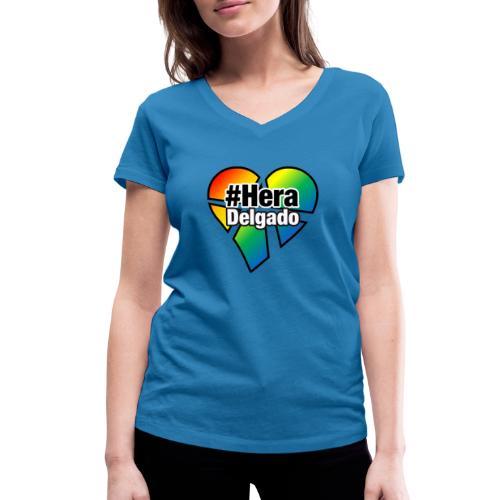 #HeraDelgado - Frauen Bio-T-Shirt mit V-Ausschnitt von Stanley & Stella