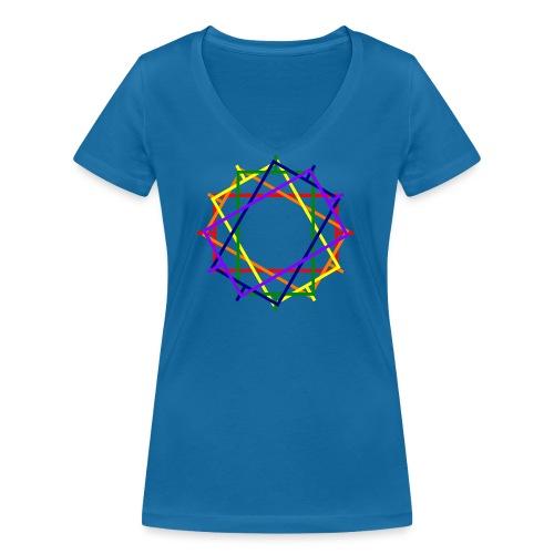 Toleranter Widerstand 20.2 - Frauen Bio-T-Shirt mit V-Ausschnitt von Stanley & Stella