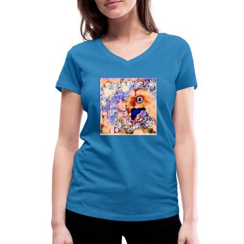 ST@RbiRD - Økologisk Stanley & Stella T-shirt med V-udskæring til damer