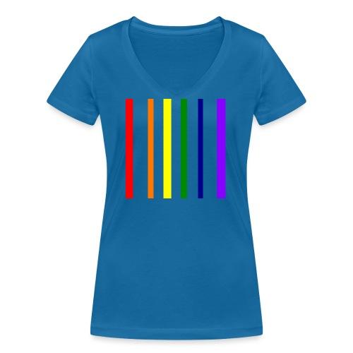 UNSCALABLE - Frauen Bio-T-Shirt mit V-Ausschnitt von Stanley & Stella