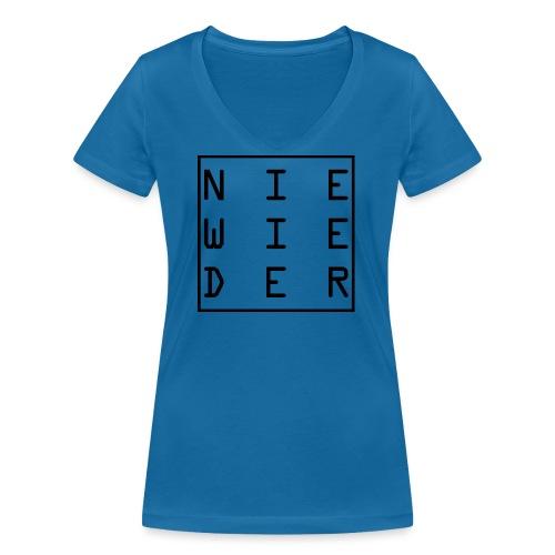 WORTKunstwort 21.2 - Frauen Bio-T-Shirt mit V-Ausschnitt von Stanley & Stella