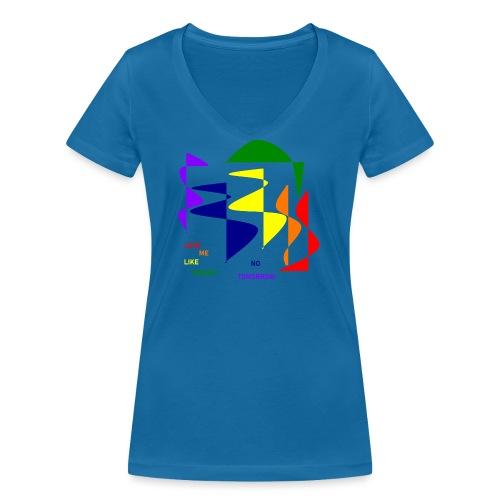 Love me like there's no tomorrow - Frauen Bio-T-Shirt mit V-Ausschnitt von Stanley & Stella