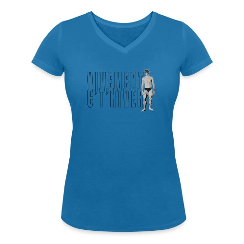TELEMARK Vivement cet Hiver - T-shirt bio col V Stanley & Stella Femme