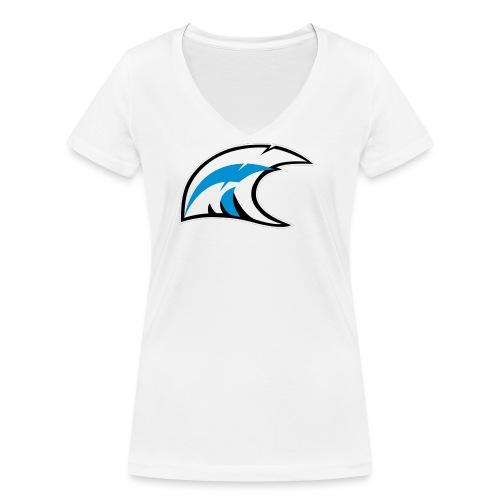 solo logo new - T-shirt ecologica da donna con scollo a V di Stanley & Stella