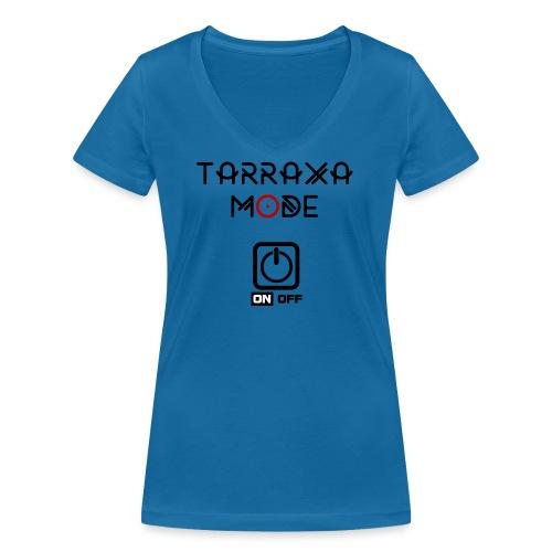 Tar Mode Black png - Women's Organic V-Neck T-Shirt by Stanley & Stella