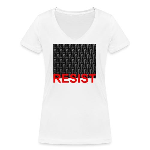 Resist 21.1 - Frauen Bio-T-Shirt mit V-Ausschnitt von Stanley & Stella