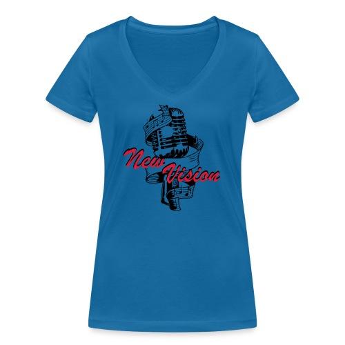New Vision - Frauen Bio-T-Shirt mit V-Ausschnitt von Stanley & Stella