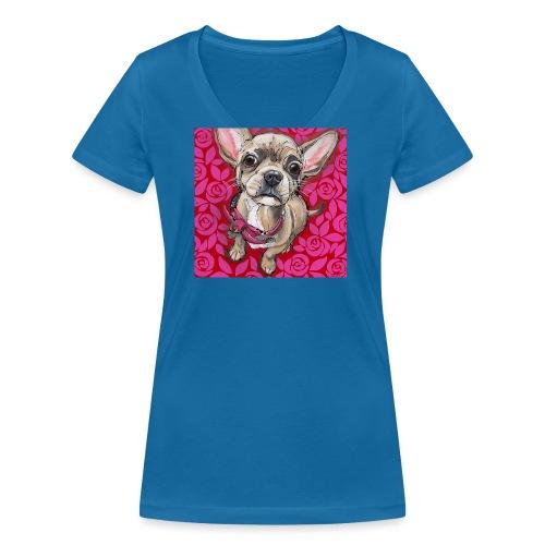 Home Alone - Vrouwen bio T-shirt met V-hals van Stanley & Stella