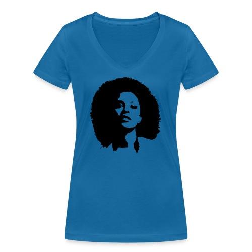 avenuelady - Vrouwen bio T-shirt met V-hals van Stanley & Stella