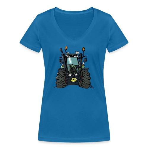 0255 F 824 - Vrouwen bio T-shirt met V-hals van Stanley & Stella