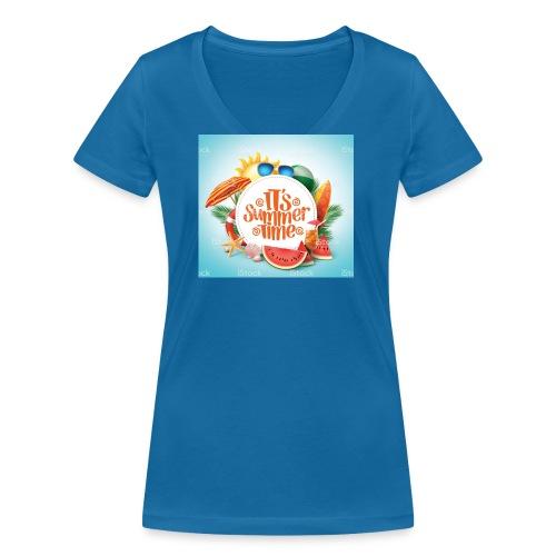 Barbaros - Ekologisk T-shirt med V-ringning dam från Stanley & Stella