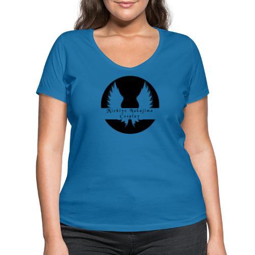 MNC Logo [No Phrase] - Women's Organic V-Neck T-Shirt by Stanley & Stella