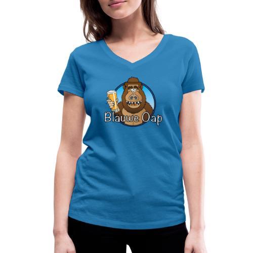 Blâuw Oap - Vrouwen bio T-shirt met V-hals van Stanley & Stella