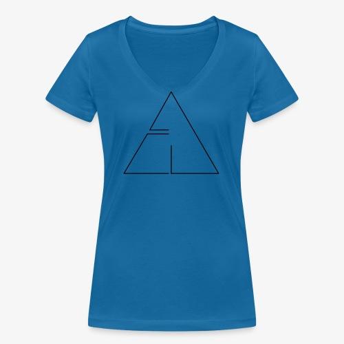 logo cg2 - T-shirt ecologica da donna con scollo a V di Stanley & Stella