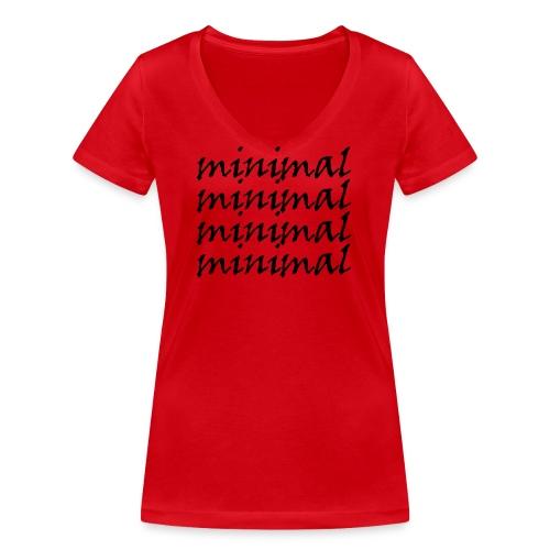 Minimal Design - Frauen Bio-T-Shirt mit V-Ausschnitt von Stanley & Stella