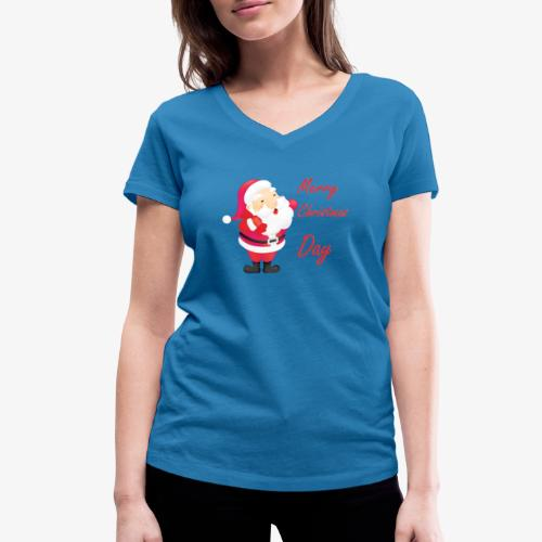 Merry Christmas Day Collections - T-shirt bio col V Stanley & Stella Femme
