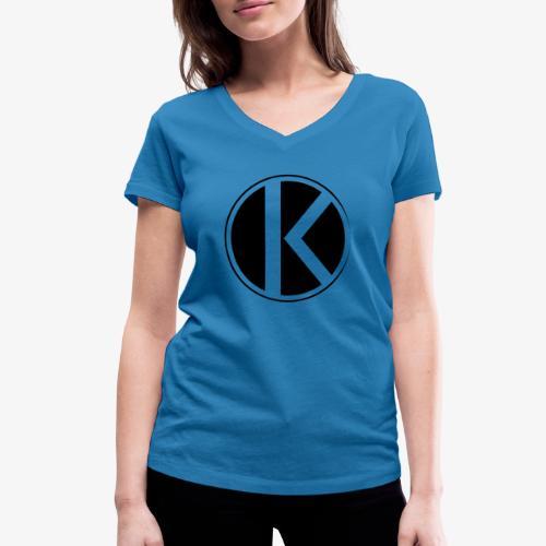 |K·CLOTHES| ORIGINAL SERIES - Camiseta ecológica mujer con cuello de pico de Stanley & Stella