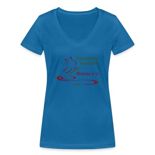 Original Logo Eiskunstlauf Akademie Rheine e.V. - Frauen Bio-T-Shirt mit V-Ausschnitt von Stanley & Stella