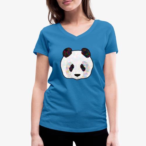 Panda - T-shirt bio col V Stanley & Stella Femme