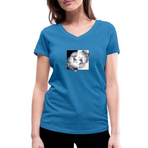 TSHIRT MUTAGENE TATOO DragKoi - T-shirt bio col V Stanley & Stella Femme