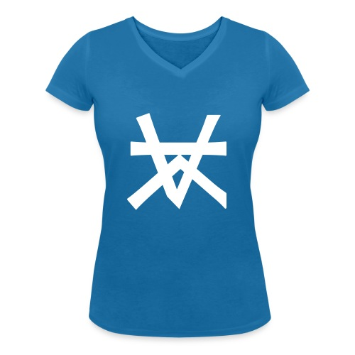 KAIROS LOGO - Vrouwen bio T-shirt met V-hals van Stanley & Stella