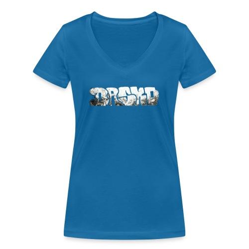 Dasko - Frauen Bio-T-Shirt mit V-Ausschnitt von Stanley & Stella
