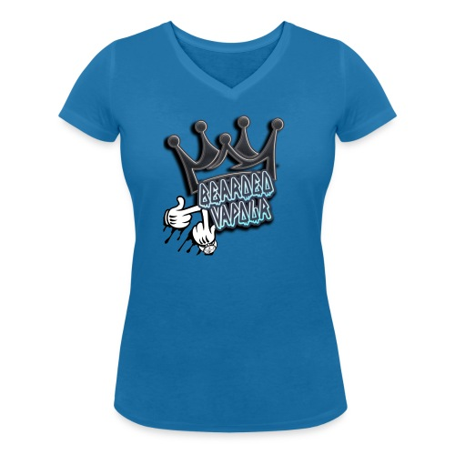 all hands on deck - Women's Organic V-Neck T-Shirt by Stanley & Stella