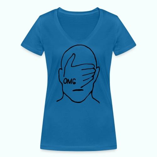 OMG - Frauen Bio-T-Shirt mit V-Ausschnitt von Stanley & Stella