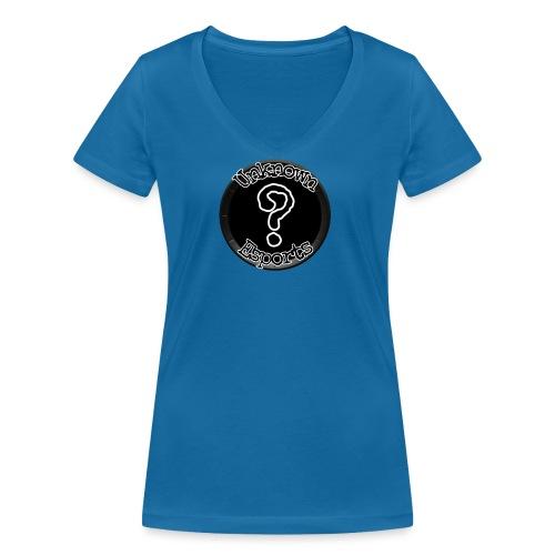 Unknown Esports logo - Stanley & Stellan naisten v-aukkoinen luomu-T-paita
