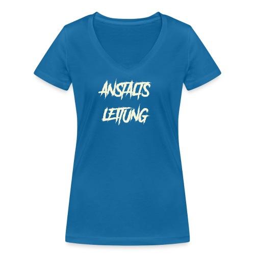 Anstaltsleitung - Frauen Bio-T-Shirt mit V-Ausschnitt von Stanley & Stella