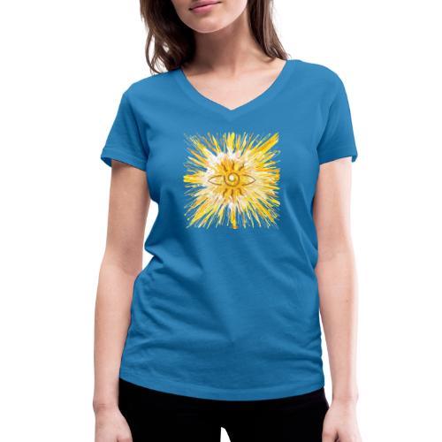Sternentor der LichtKraft - Frauen Bio-T-Shirt mit V-Ausschnitt von Stanley & Stella