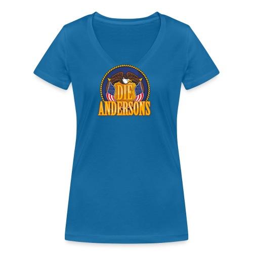 Die Andersons - Merchandise - Frauen Bio-T-Shirt mit V-Ausschnitt von Stanley & Stella