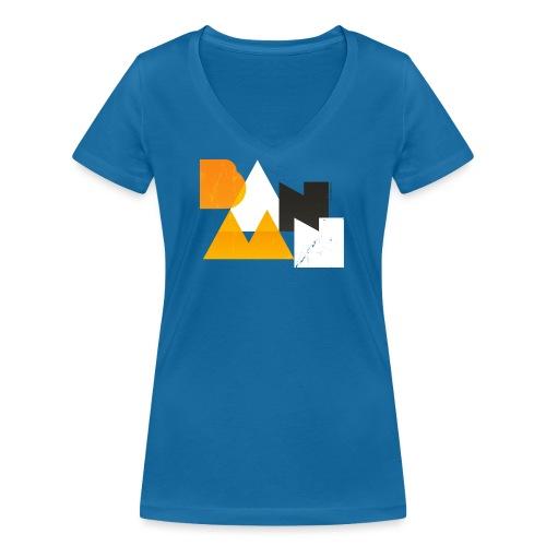 BANAAN 03 - Vrouwen bio T-shirt met V-hals van Stanley & Stella
