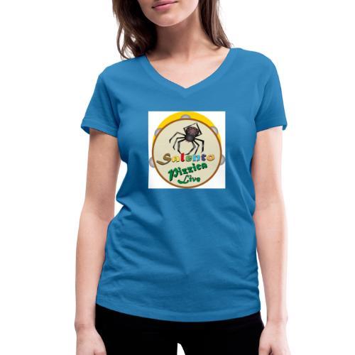 Salento Pizzica Live sf B - T-shirt ecologica da donna con scollo a V di Stanley & Stella