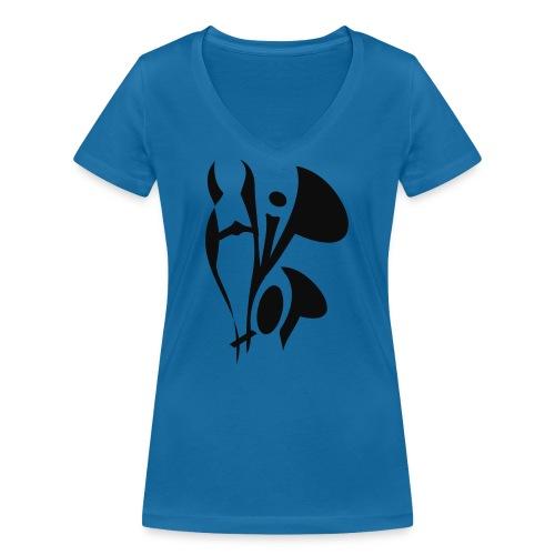 hiphop style - Frauen Bio-T-Shirt mit V-Ausschnitt von Stanley & Stella