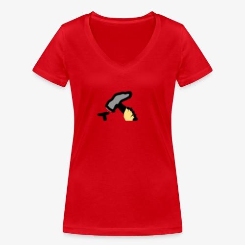 Mateba - Økologisk Stanley & Stella T-shirt med V-udskæring til damer
